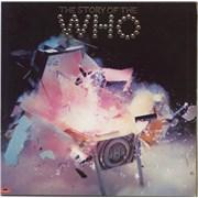 The Who The Story Of The Who - Matt UK 2-LP vinyl set