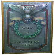 Click here for more info about 'The Who - The Who & The Grateful Dead Poster'