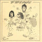 Click here for more info about 'The Who By Numbers - 1st - VG'