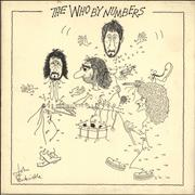Click here for more info about 'The Who - The Who By Numbers - EX'