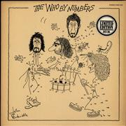Click here for more info about 'The Who By Numbers - Stickered sleeve'