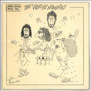 Click here for more info about 'The Who - The Who By Numbers - gold stamp'