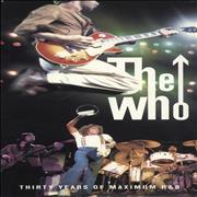 Click here for more info about 'The Who - Thirty Years Of Maximum R&B - EX'