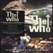 Click here for more info about 'The Who - Thirty Years Of Maximum R&B - stickered box'