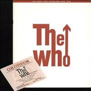The Who Two Thousand And Two + Ticket Stub UK tour programme