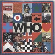 Click here for more info about 'The Who - WHO - 180gm Blue & White Vinyl + Bonus 10