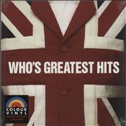 Click here for more info about 'The Who - Who's Greatest Hits - Clear Red 180 Gram Vinyl - Sealed'