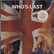 Click here for more info about 'The Who - Who's Last - Hype Stickered'