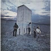 The Who Who's Next - 1st - woc UK vinyl LP