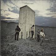 The Who Who's Next - 200gm Quiex USA vinyl LP