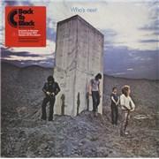 The Who Who's Next UK vinyl LP