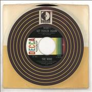 """The Who Won't Get Fooled Again USA 7"""" vinyl"""