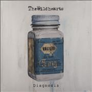 Click here for more info about 'The Wildhearts - Diagnosis - Clear & Blue Splattered Vinyl - Sealed'