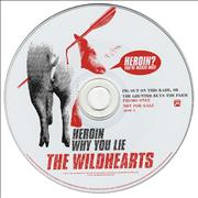 Click here for more info about 'The Wildhearts - Heroin/Why You Lie'