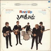 Click here for more info about 'The Yardbirds - Having A Rave Up With The Yardbirds - orange label'