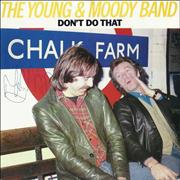 Click here for more info about 'The Young & Moody Band - Don't Do That - Autographed'