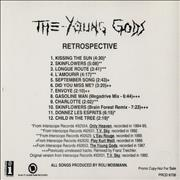 Click here for more info about 'The Young Gods - Retrospective'
