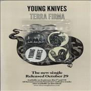 Click here for more info about 'The Young Knives - Terra Firma - Handbill & Badge'