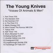 Click here for more info about 'The Young Knives - Voices Of Animals And Men'