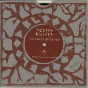Click here for more info about 'The Young Knives - We Could Be Blood - Numbered Sleeve'