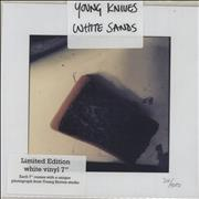 Click here for more info about 'The Young Knives - White Sands - White Vinyl + Numbered Sleeve'