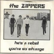 Click here for more info about 'The Zippers - He's A Rebel'