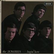 Click here for more info about 'The Zombies - Begin Here - 1st - VG+/EX-'