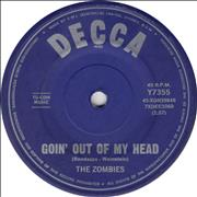 Click here for more info about 'The Zombies - Goin' Out Of My Head'