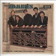 Click here for more info about 'The Zombies - Kind Of Girl EP - VG'