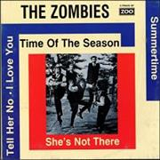 Click here for more info about 'The Zombies - The Time Of The Season EP'