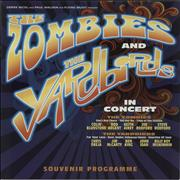 Click here for more info about 'The Zombies And The Yardbirds In Concert + ticket stubs'