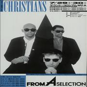 Click here for more info about 'The Christians - From A Selection - Japan Concerts  - Four Flyers'
