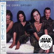 The Corrs Dreams Japan CD single Promo