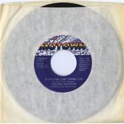 """Thelma Houston If It's The Last Thing I Do Canada 7"""" vinyl"""