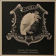 Click here for more info about 'Them Crooked Vultures - 2009 Tour Lithograph - Birmingham'