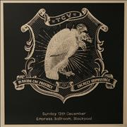 Click here for more info about 'Them Crooked Vultures - 2009 Tour Lithograph'