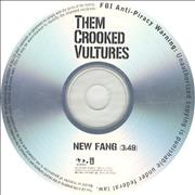 Click here for more info about 'Them Crooked Vultures - New Fang'