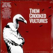 Click here for more info about 'Them Crooked Vultures - Them Crooked Vultures - 180 Gram Vinyl - Sealed'