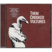 Them Crooked Vultures Them Crooked Vultures UK CD album