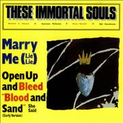 Click here for more info about 'These Immortal Souls - Marry Me (Lie! Lie!)'