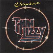 Click here for more info about 'Thin Lizzy - Chinatown - Embossed'