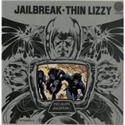 Thin Lizzy Jailbreak - 1st UK vinyl LP