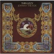Thin Lizzy Johnny The Fox - 1st BB UK vinyl LP