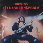Click here for more info about 'Thin Lizzy - Live And Dangerous - EX'
