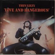 Click here for more info about 'Thin Lizzy - Live And Dangerous - VG+'