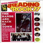 Click here for more info about 'The Reading Festival - Reading Rock '77'