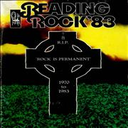 The Reading Festival Reading Rock '83 UK tour programme
