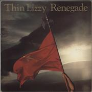 Click here for more info about 'Thin Lizzy - Renegade - Gold Promo Stamped'