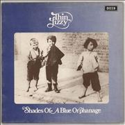 Thin Lizzy Shades Of A Blue Orphanage - 1st UK vinyl LP