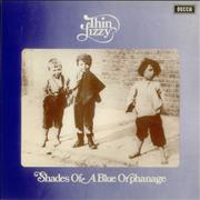 Click here for more info about 'Thin Lizzy - Shades Of A Blue Orphanage - 2nd'